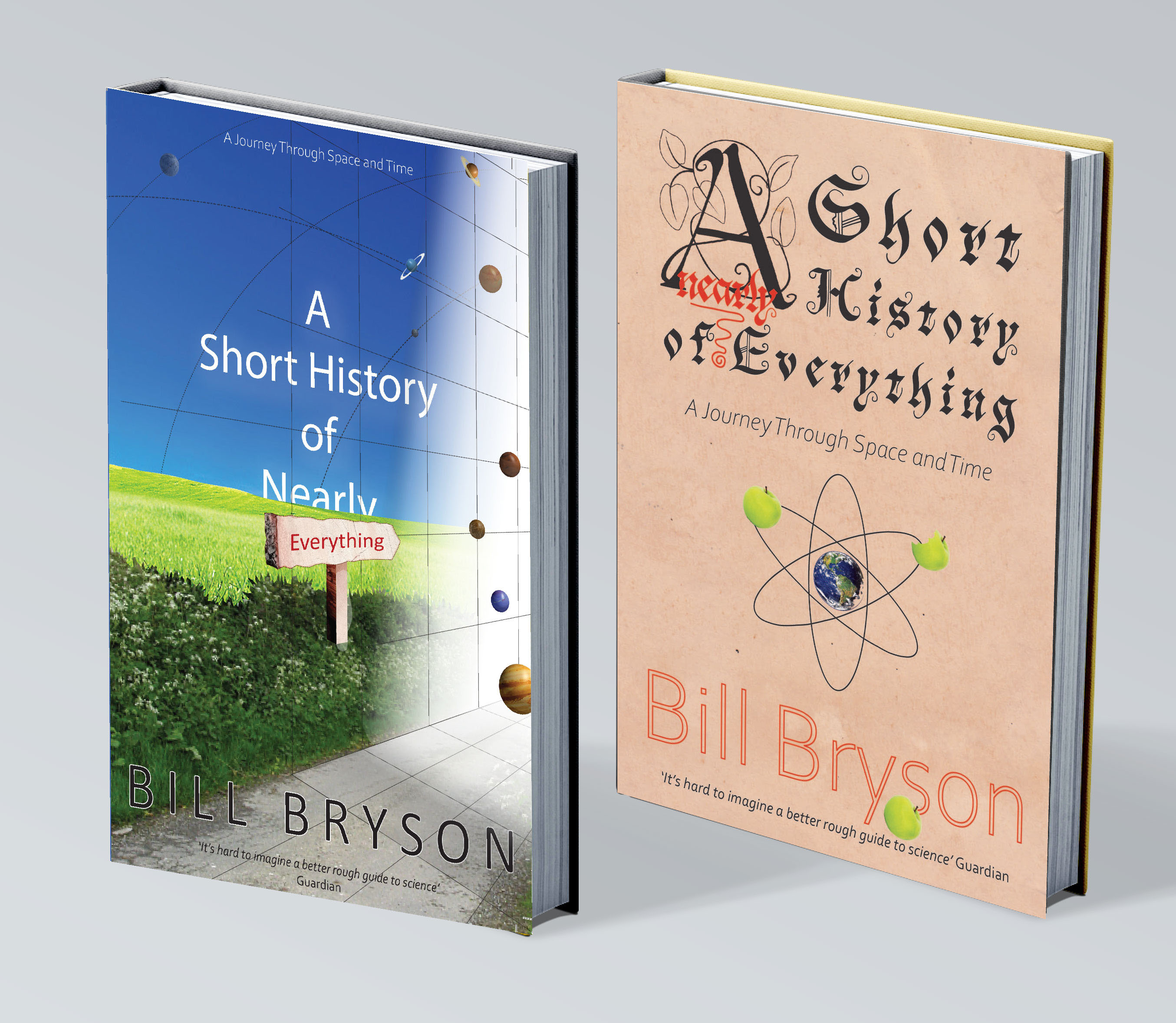 bryson book cover designs